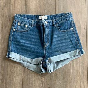 Love Tree Shorts - High waist shorts